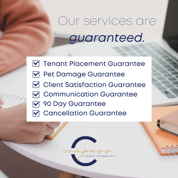 Our services are guaranteed.
