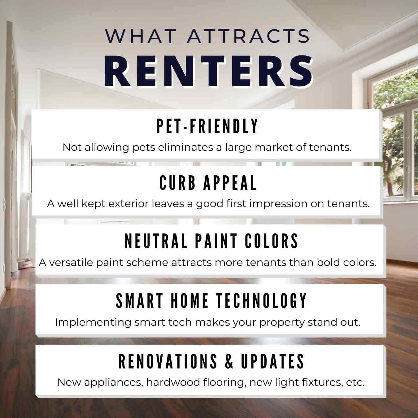 Attracts-Renters